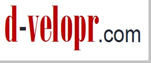 dvelopr logo shadow border medium words